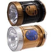 Фонарь кемпинговый, солн. бат., аккум. 220В, USB L10 W10 H17 cм 266453