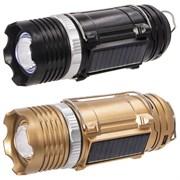 Фонарь кемпинговый, солн. бат., аккум. 220В, USB L6 W6 H17 cм