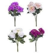 """Цветок искусственный """"Пион"""" L30 W30 H52 см"""