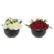 """Цветочная композиция """"Розы"""" L25 W25 H23 см"""