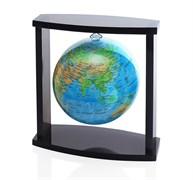 Глобус самовращающийся Mova Globe d12 см на подвесе с общегеографической картой Мира