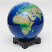 Глобус самовращающийся Mova Globe d22 см вид из космоса, цвет голубой