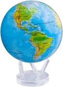 Глобус самовращающийся Mova Globe d22 см с общегеографической картой Мира