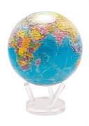 Глобус самовращающийся Mova Globe d22 см с политической картой Мира
