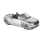 "Скульптура-автомобиль ""Audi TT Roadster"", металл, 20 см"