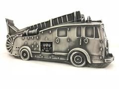 "Скульптура-автомобиль ""Fire Engine 1950s"", металл, 30 см"