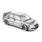 "Скульптура-автомобиль ""Mitsubishi Lancer"", металл, 23 см"