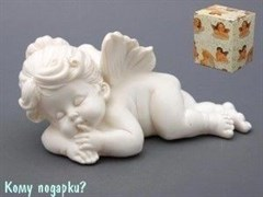 "Фигурка ""Спящий ангел"", коллекция ""amore"", l=21 см"
