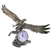 Часы настольные Орел расправил крылья цвет: золото L30W66.5H56 см