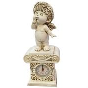 Часы настольные Ангел-I цвет: антик Н25.5 см