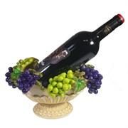 Подставка под бутылку Ваза с виноградом цвет: акрил L27W18.5H14 см