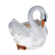 Кашпо декоративное Лебедь H25D15 см.