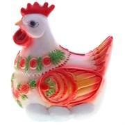 Копилка Курица цвет: красный