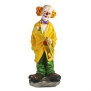 Фигура декоративная Клоун с трубой L15W15H37см