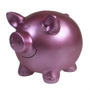 Копилка Свинка цвет: розовый L15.5W12H11.5см