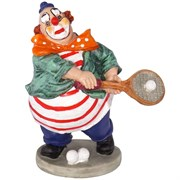 """Фигурка декоративная """"Клоун"""", L14,5 W9,5 H16,5 см"""