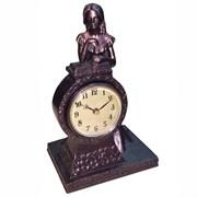 Часы настольные декоративные L16 W13 H25 см