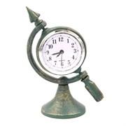 Часы настольные декоративные L10,2 W6,2 H14,3 см 266382