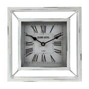 Часы настольные декоративные L24 W8 H24 см
