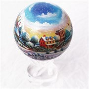 Глобус самовращающийся MOVA GLOBE d12 см Рождественский шар