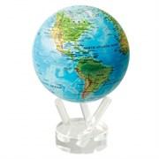 Глобус самовращающийся MOVA GLOBE d16,5 см с общегеографической  картой Мира