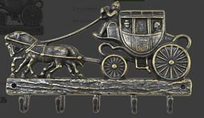 Ключница металлическая Дилижанс AL-82-231-ANT