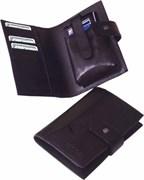 Портмоне с чехлом для телефона Zippo 63012 BL-330 коричневое