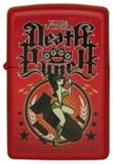 Широкая зажигалка Zippo Five Finger Death Punch 233 (Cl013373)