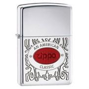 Широкая зажигалка Zippo An American Classic 28069