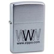 Широкая зажигалка Zippo WWW Zippo 200