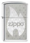 Широкая зажигалка Zippo Hidden 205