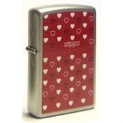 Широкая зажигалка Zippo Zippo Hearts 205