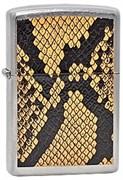 Широкая зажигалка Zippo Snake Skin 231