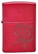 Широкая зажигалка Zippo Rose 21063