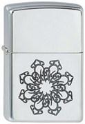 Широкая зажигалка Zippo Arabic Style 2 251