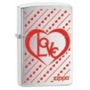 Широкая зажигалка Zippo Love 28781