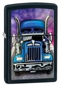 Широкая зажигалка Zippo Truck Head On 28312