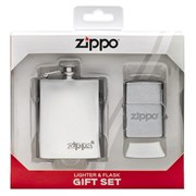 Подарочный набор ZIPPO фляжка и зажигалка 49098