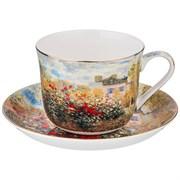 """Чайный набор """"Сад""""  на 1 персону 2пр.500 мл (кор=18наб.)"""
