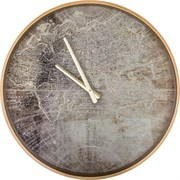 Часы настенные кварцевые 46*46*4,5 см диаметр циферблата=43 см