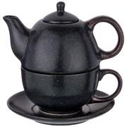 "Набор 2 пр. чайник объем 400 мл и чашка объем 329 мл  коллекция ""Лимаж"""