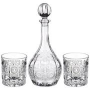 """Набор для виски """"Muza crystal"""" 3пр.: штоф + 2 стакана 950/300 мл"""