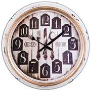 """Часы настенные кварцевые """"Кухня мира"""" D=36 см диаметр циферблата=26 см"""