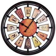 "Часы настенные кварцевые ""Рулетка"" D=50 см диаметр циферблата=44 см цвет: антик"