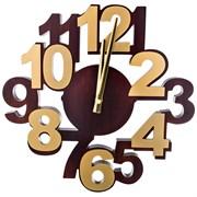 """Часы настенные кварцевые """"Цифры"""" D=34 см"""