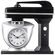 "Часы настенные кварцевые ""Chef kitchen"" 39 см цвет:черный"