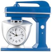 """Часы настенные кварцевые """"Chef kitchen"""" 39 см цвет:синий"""