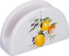 """Салфетница """"Итальянские лимоны"""" 12,8*4,7*7,5 см"""