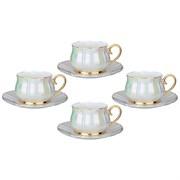 "Чайный набор на 4 персоны 8 пр. lefard ""Pearl"" 200 мл"