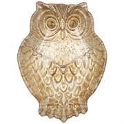 """Блюдо """"Owl"""" gold 17х12х3,5 см без упаковки"""